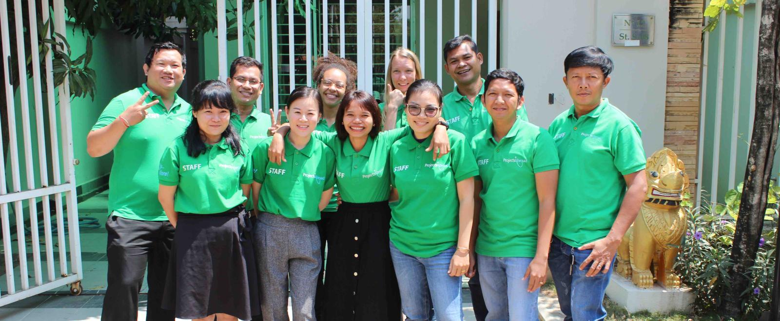 Personal local de Projects Abroad en Camboya.